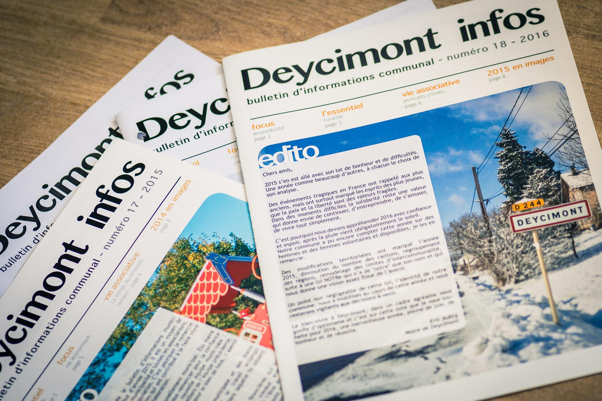bulletin communal de Deycimont