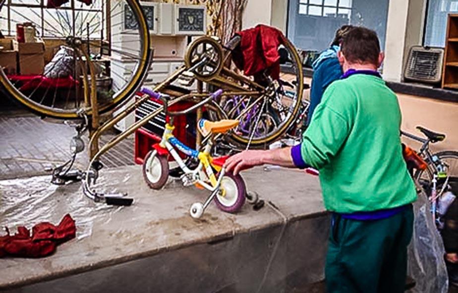 recup vélo sensibilisation animation