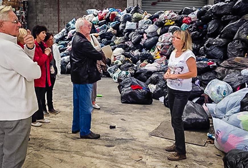 tri textiles déchets entreprise