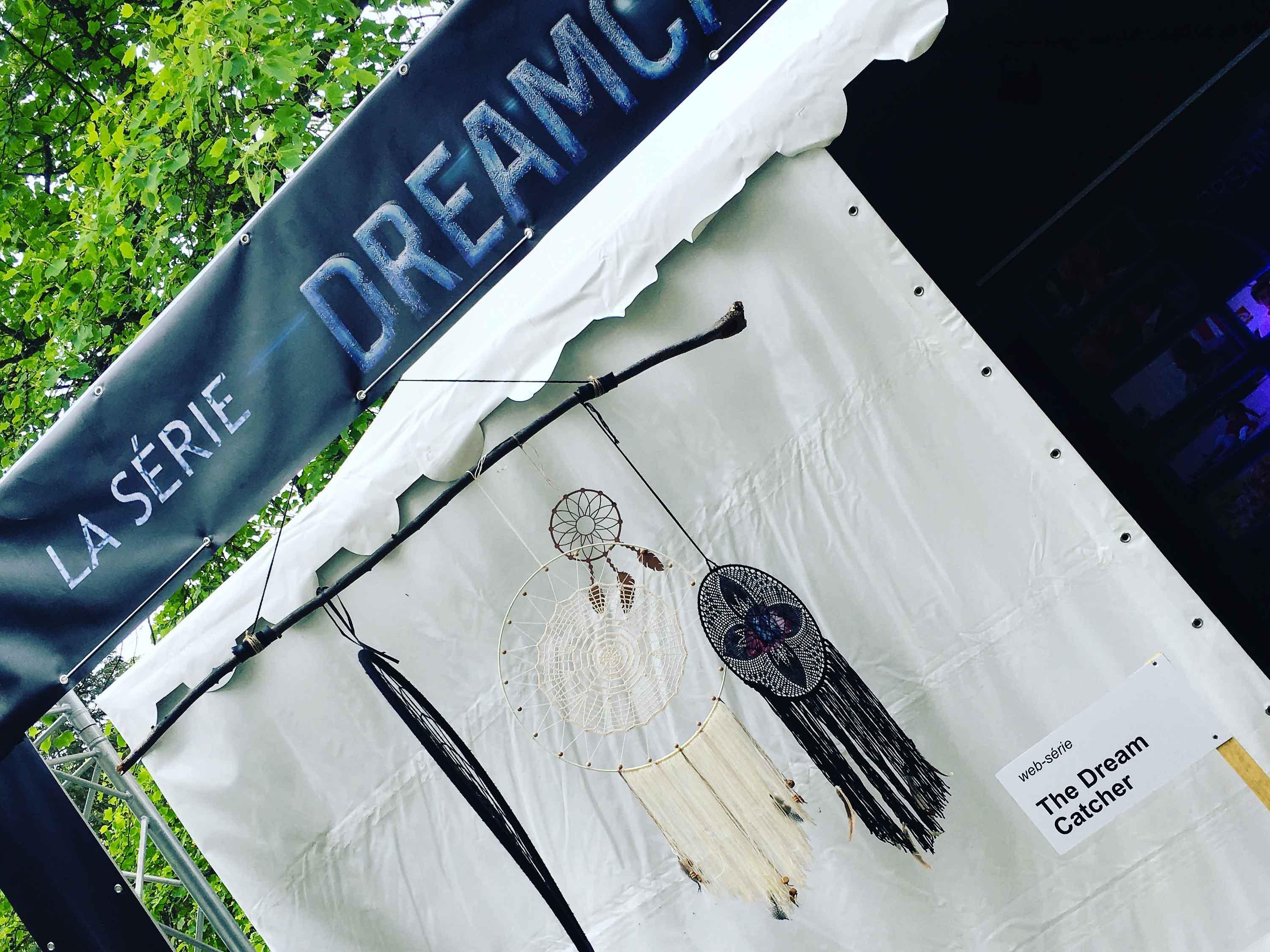 action de promotion au festival Les Imaginales d'Epinal mai 2017