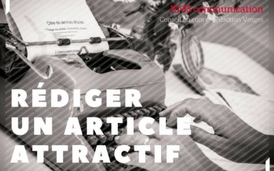 Comment rédiger un article attractif?